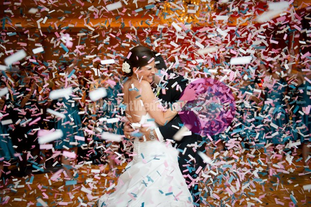 Wedding Confetti Cannons MyBigFatWeddingDiscocom