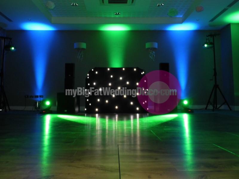 Wedding disco wivenhoe house