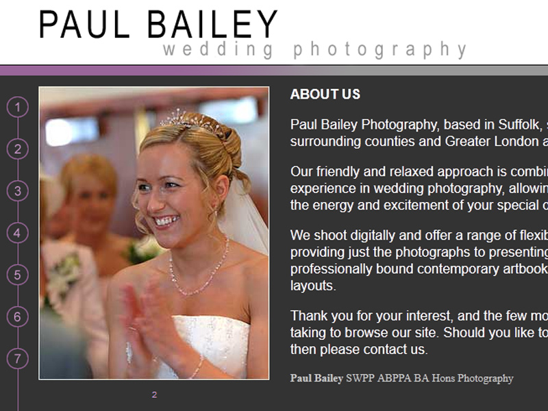 Paul Bailey Wedding Photography