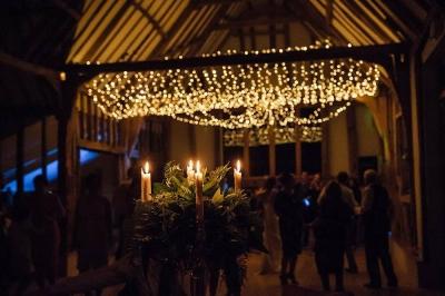 stunning wedding fairy lights