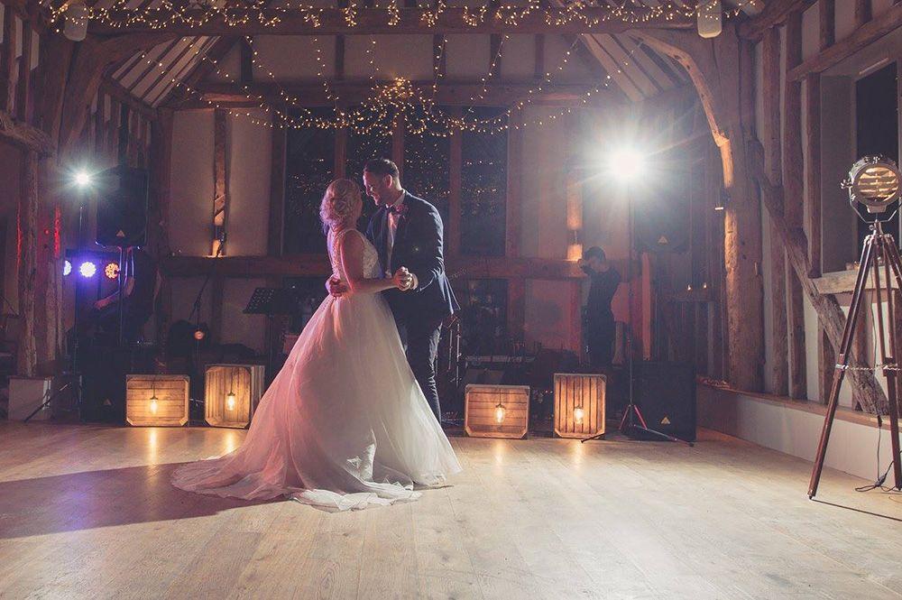 Wedding mood light effects